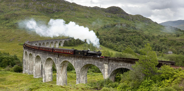 GuestToGuest, traveling, sharing economy, fairytale locations, glenfinnan viaduct