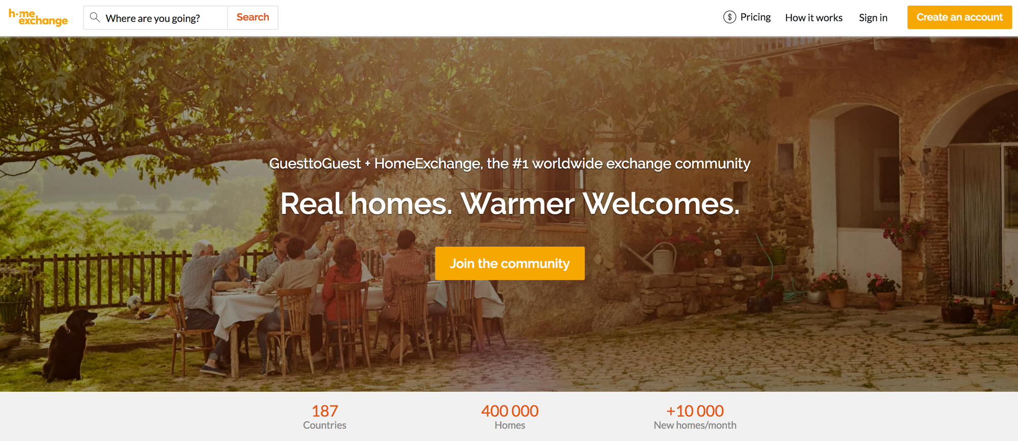 Welcome To Your New Homeexchange