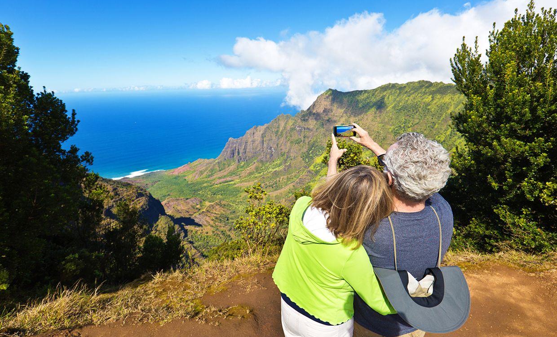 Kauai - Looking out to Napali Coast