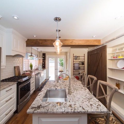 Christine, Thomas and Luca's kitchen- travel with home exchange