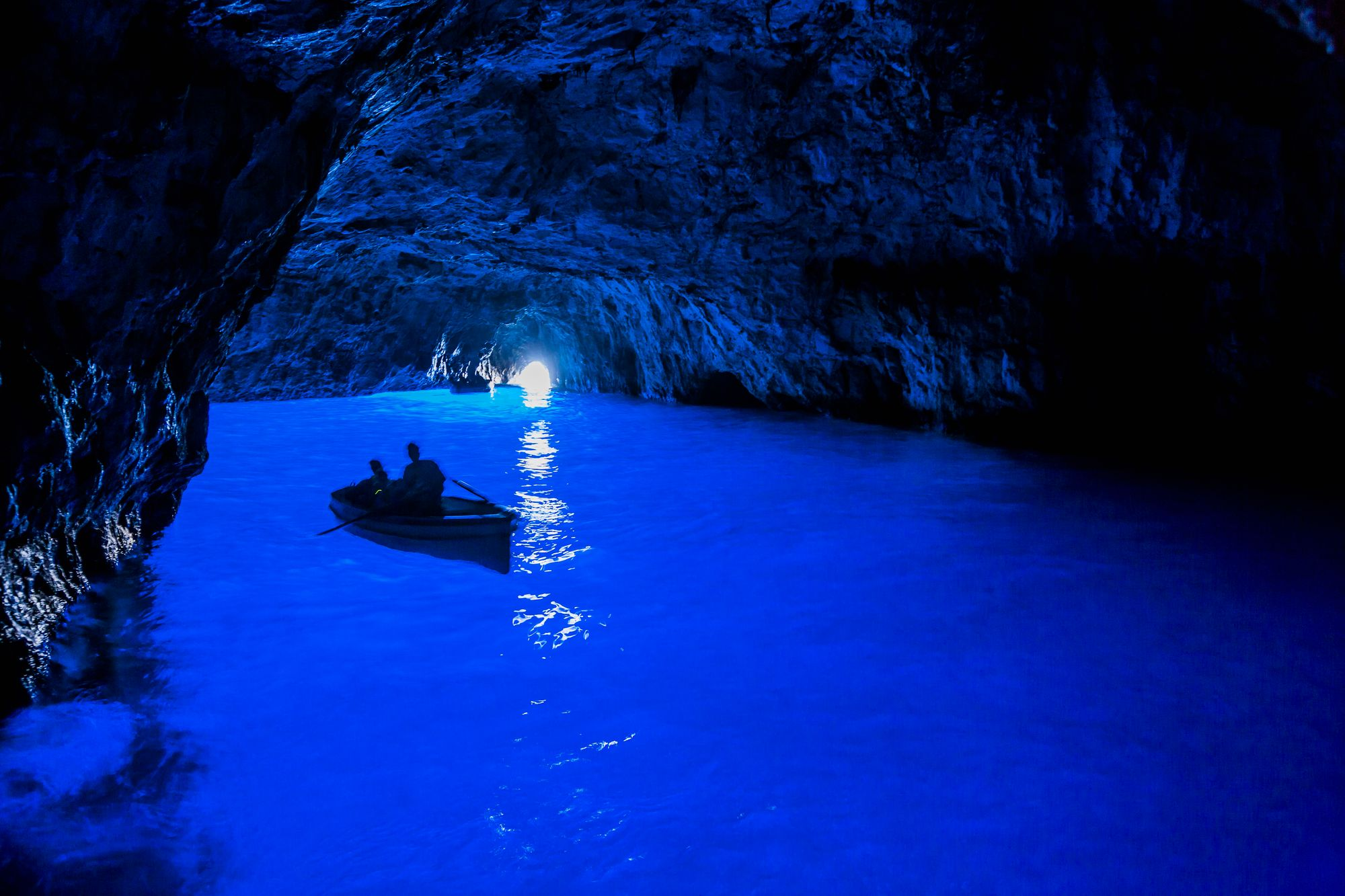 Blue Grotto Capri Italy home exchange
