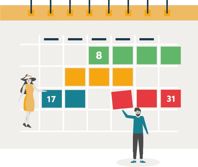 HomeExchange update calendar