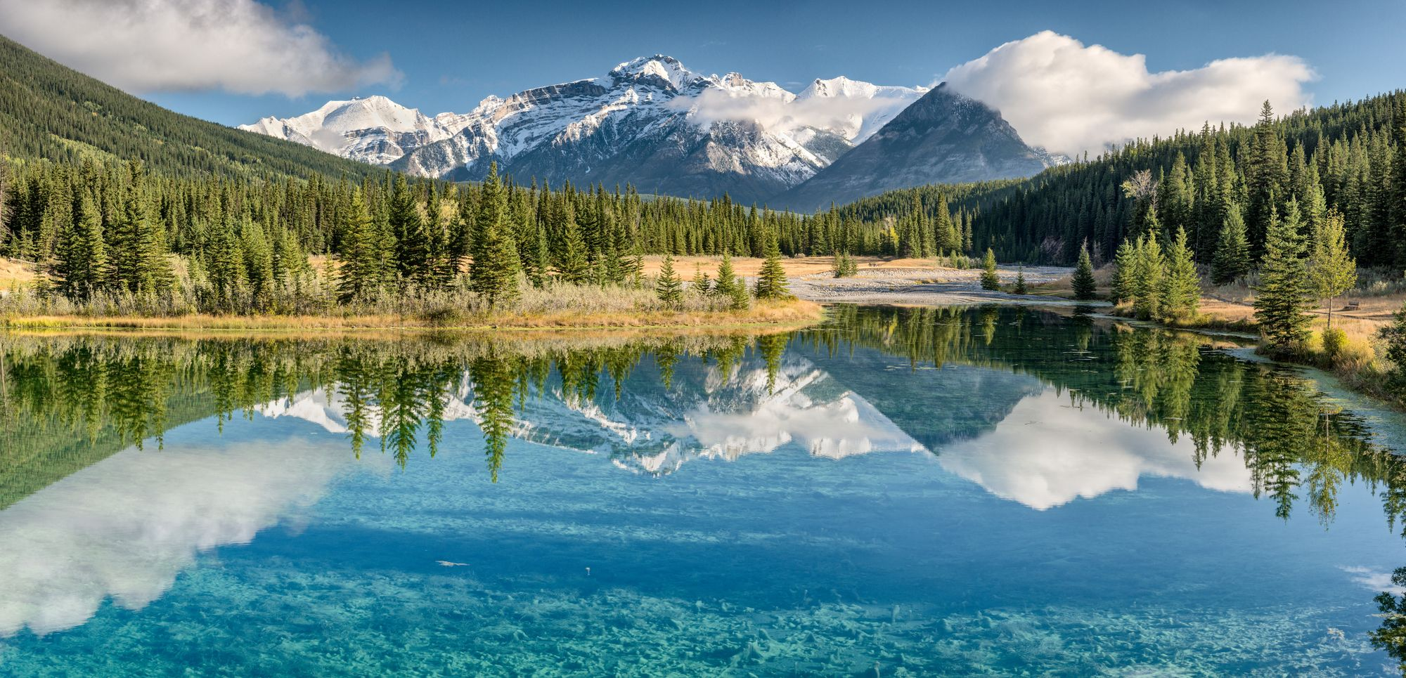Travel to Banff National Park in Alberta, Canada with a home exchange