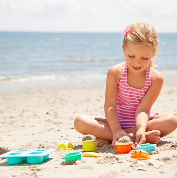 Melissa & Doug sand toys - travel vacation essentials from HomeExchange