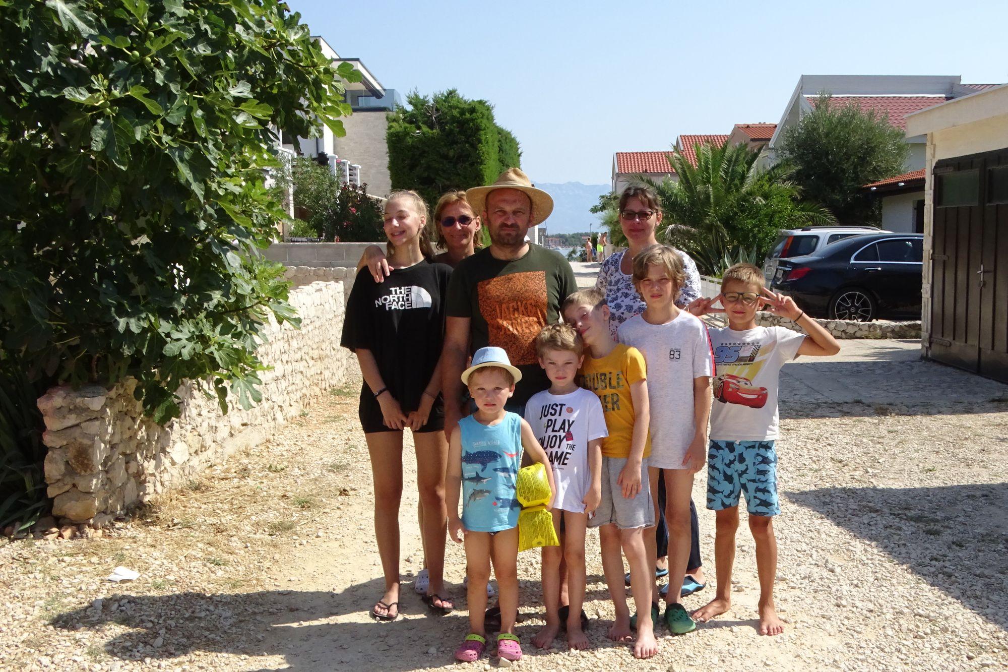 HomeExchange member Klara and her family in Croatia