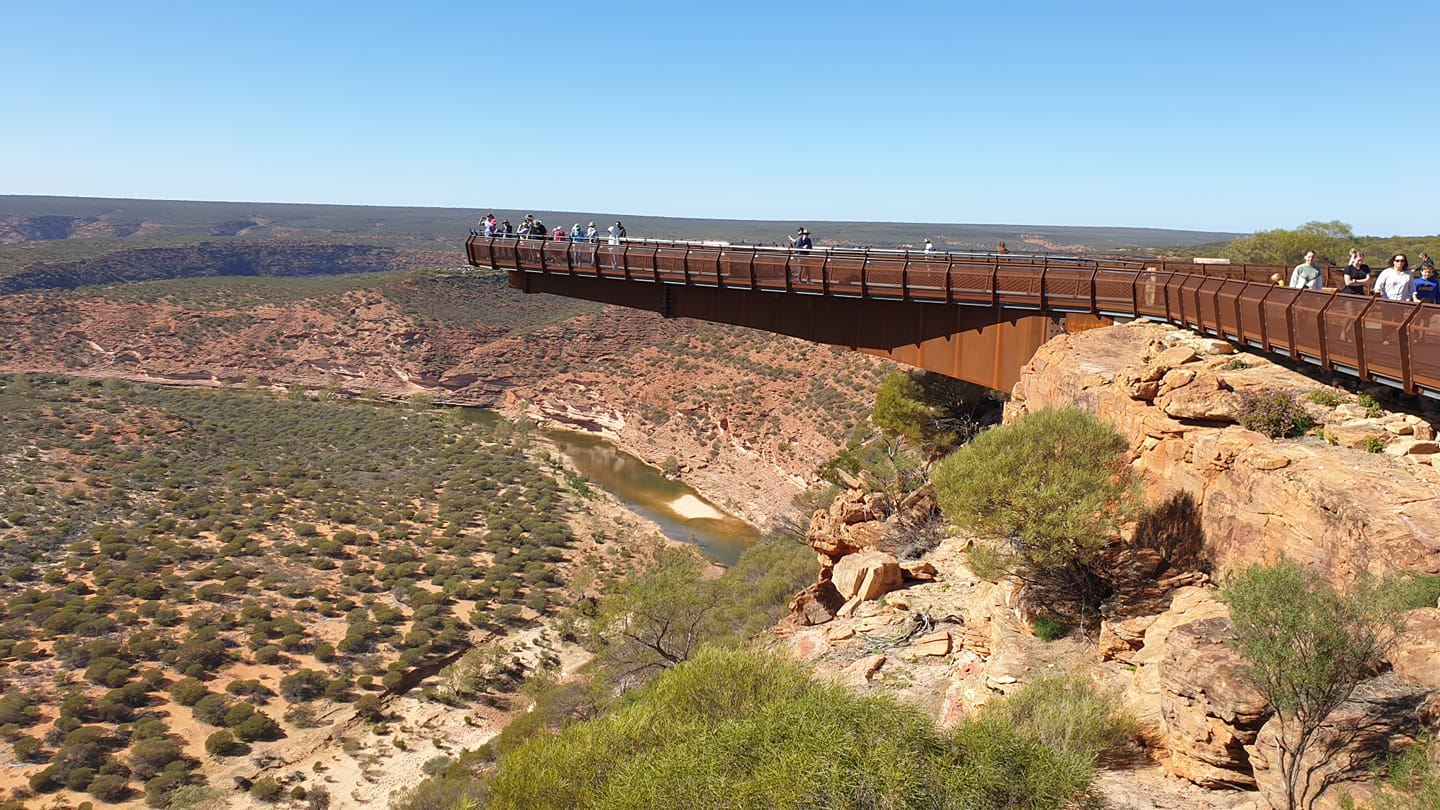 Skywalk at Kalbarri in Western Australia