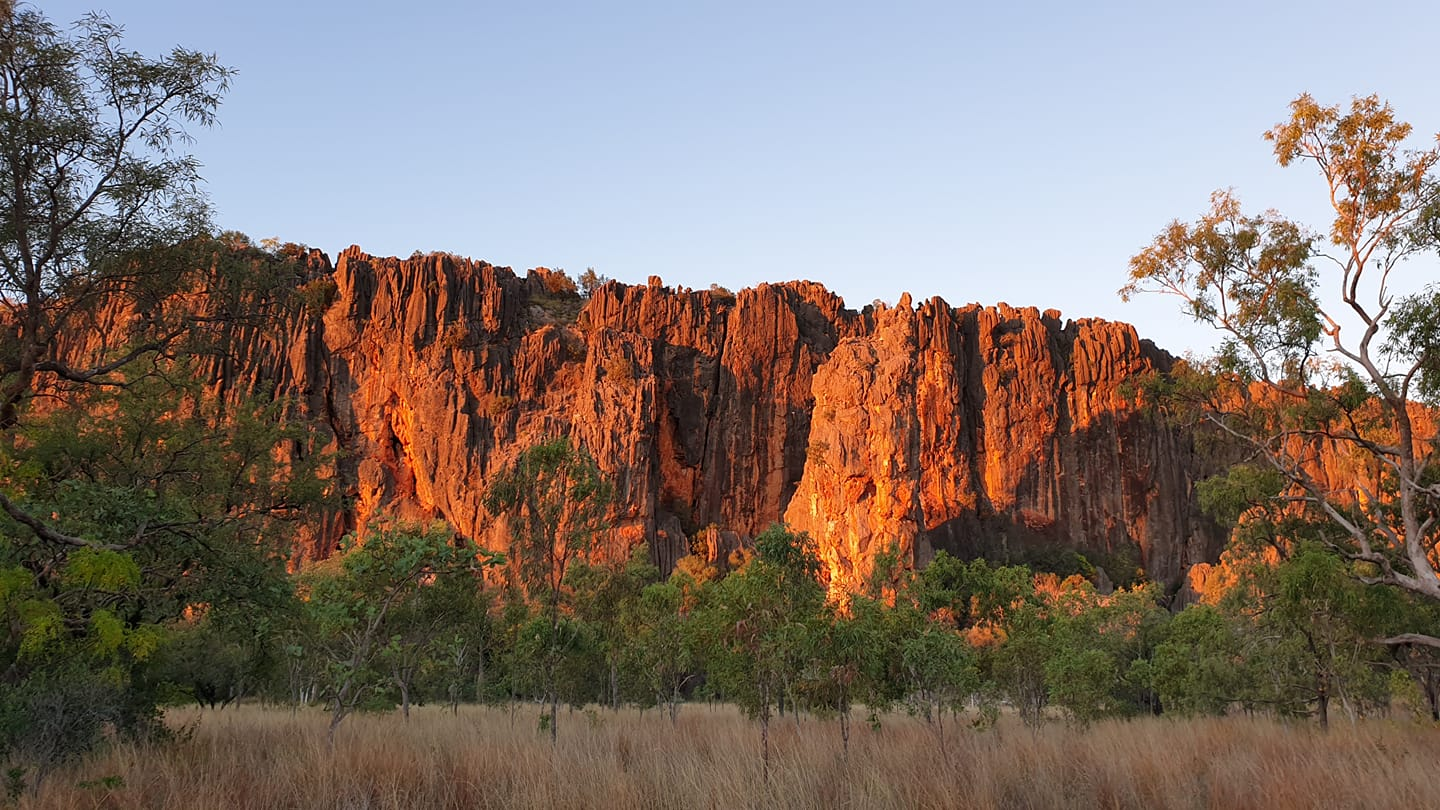 Windjana Gorge in the Kimberley region in Western Australia