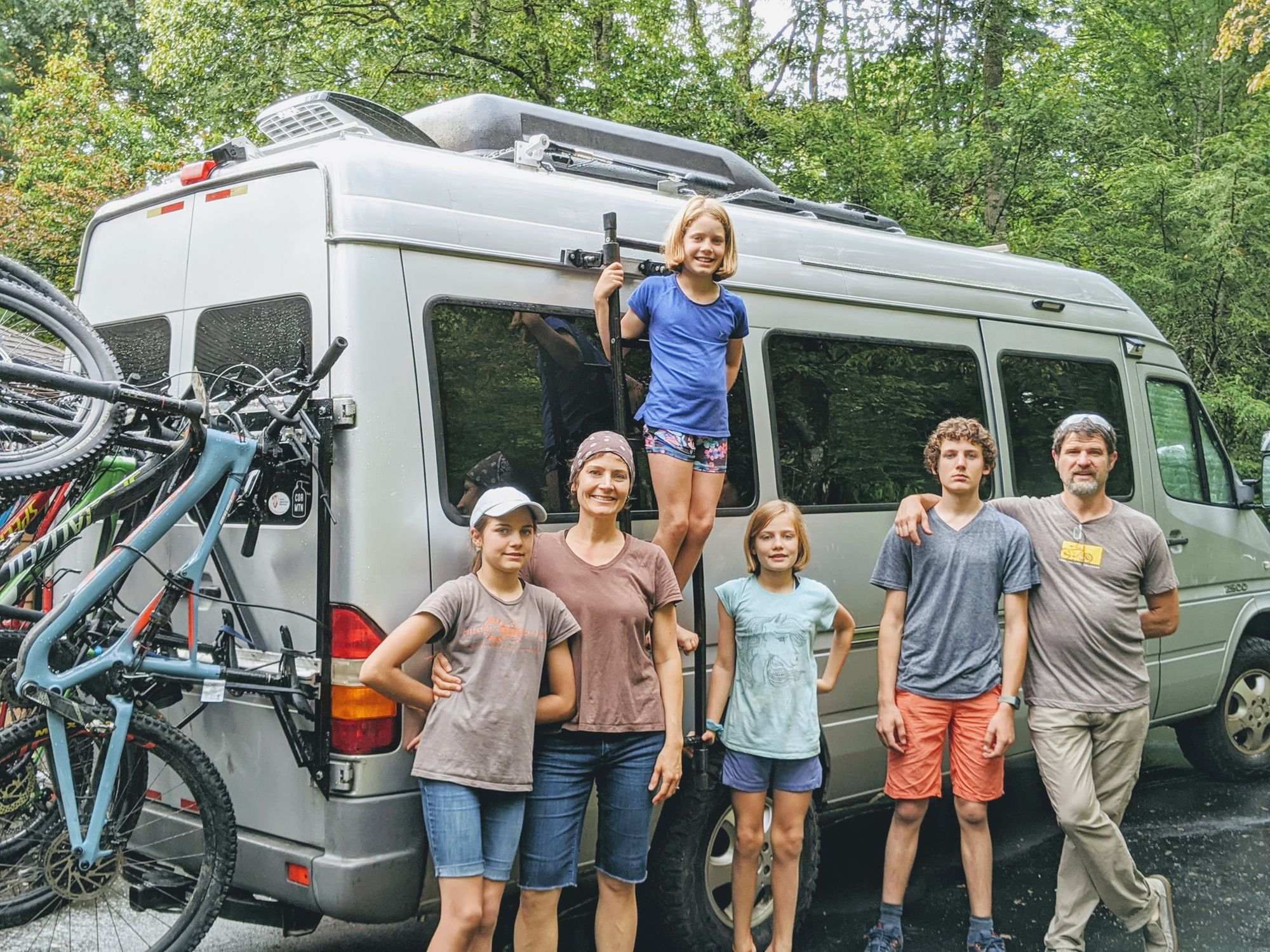 Road schooling travel with home exchange