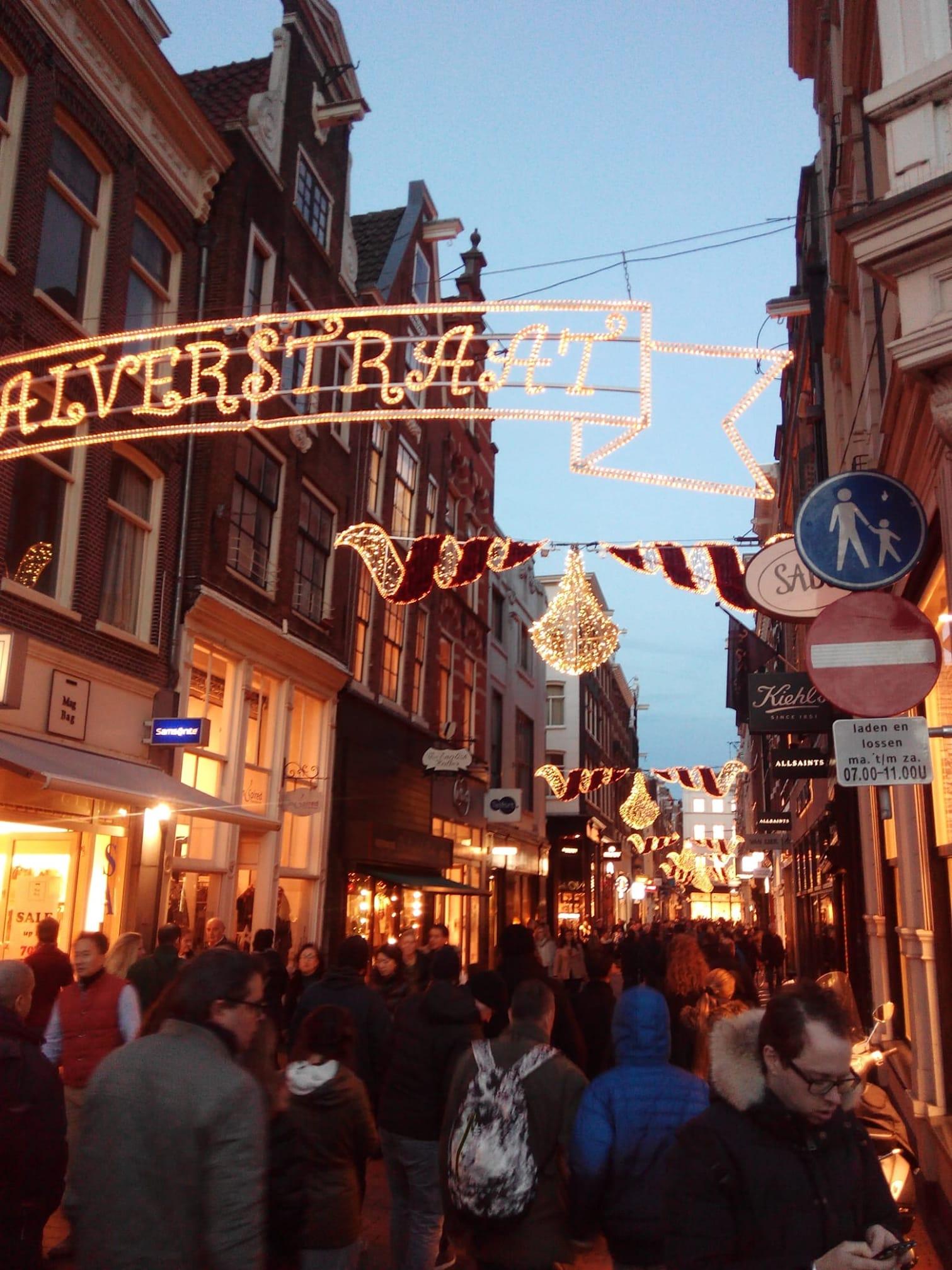 Vacanze natalizie ad Amsterdam con lo scambio casa