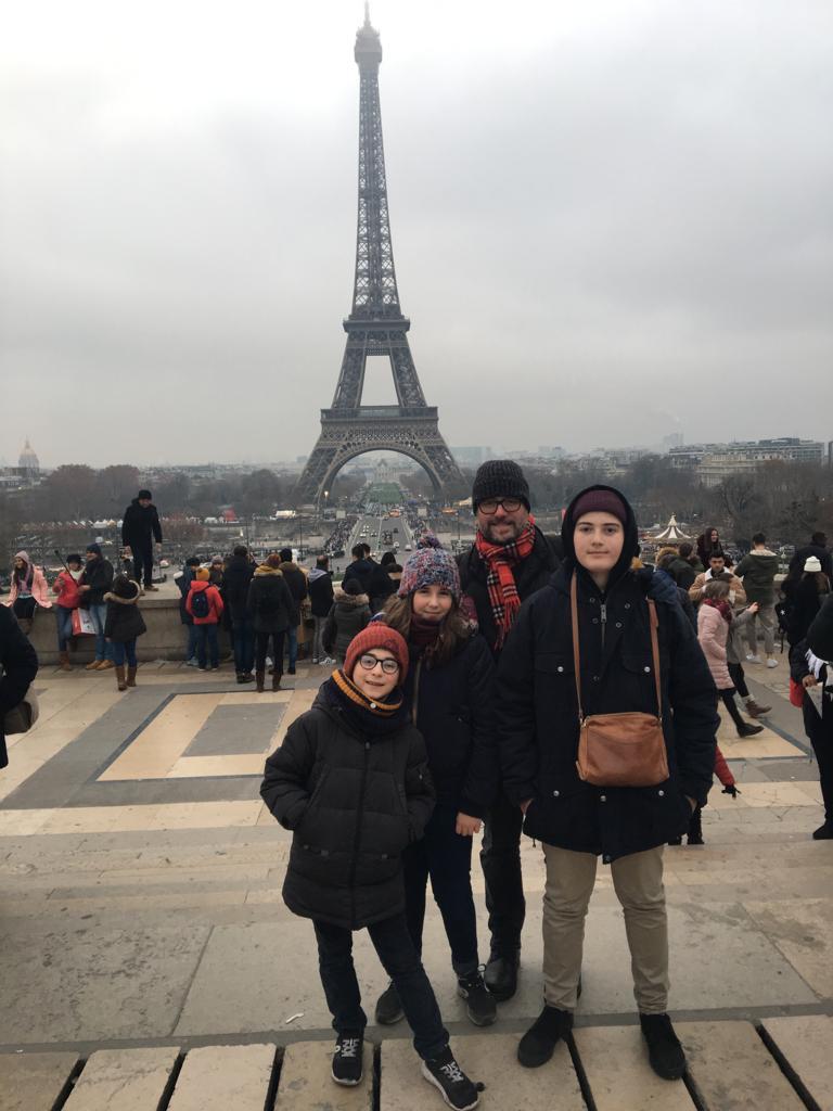 Vacanze Natalizie a Parigi con lo scambio casa